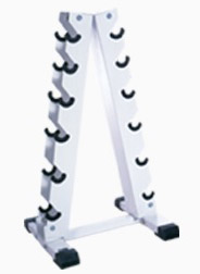 CAP Barbell Vertical A-Frame Hex Dumbbell Rack
