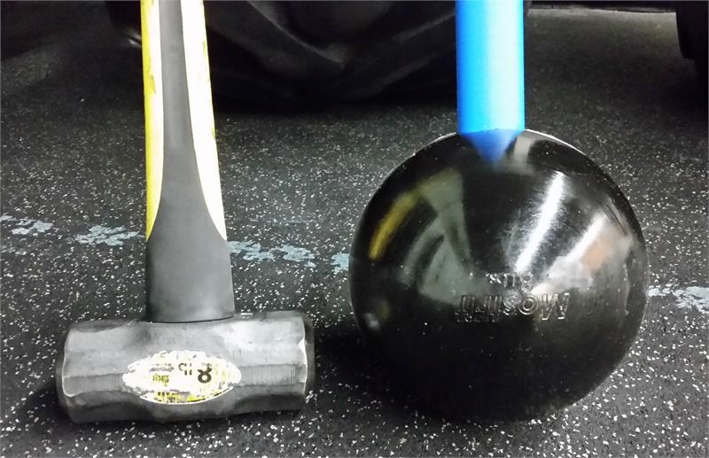MostFit Core Hammer Training vs. Regular Sledgehammer Training
