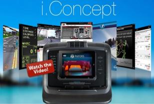 BH Fitness i.Concept Cardio Equipment Entertainment Technology