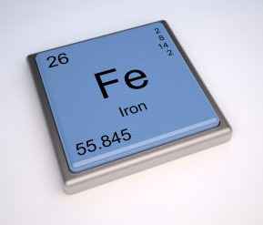 Iron Element Chemical Symbol for Cast Iron
