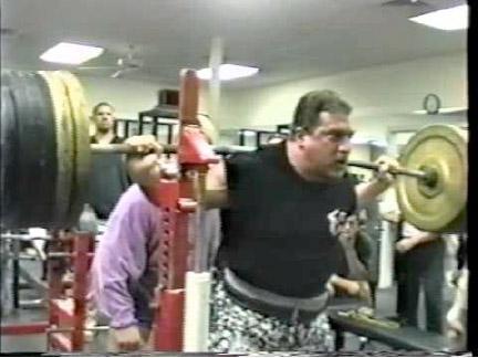 "The Greatest Barbell Squat Set of All Time:  ""Captain"" Kirk Karwoski 800 x 5 Raw"