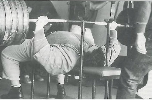 Bench Press Strength Masters article by Marty Gallagher