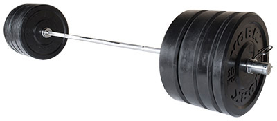 Olympic Rubber Bumper Plate Barbell Sets