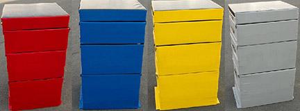Soft Plyo Box colors