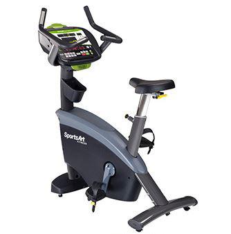SportsArt G875u Upright Cycle
