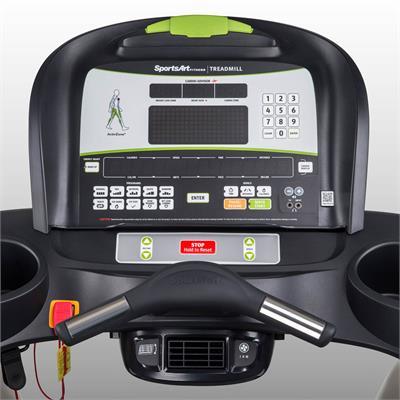 standard treadmill console