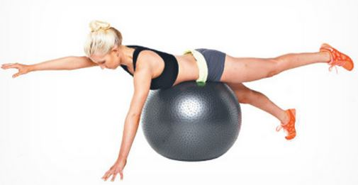 supermans on stability ball