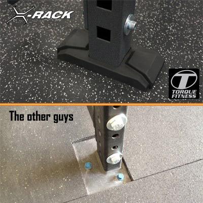 Torque X-Rack feet