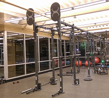 Torque X-Rack at the gym