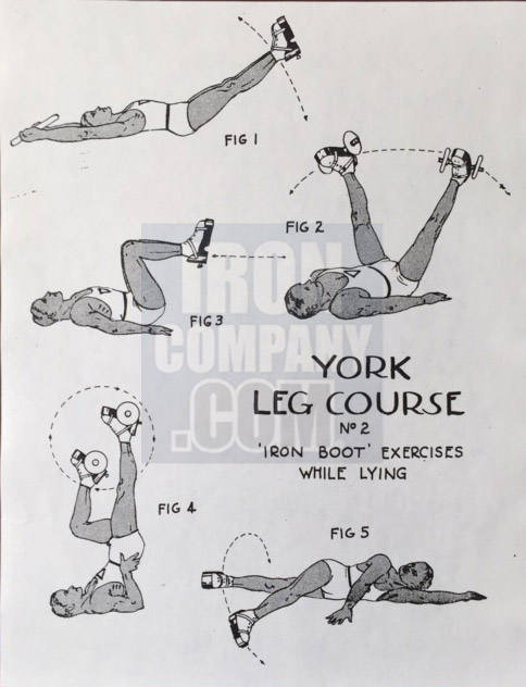 York Barbell System of Training Leg Course 2