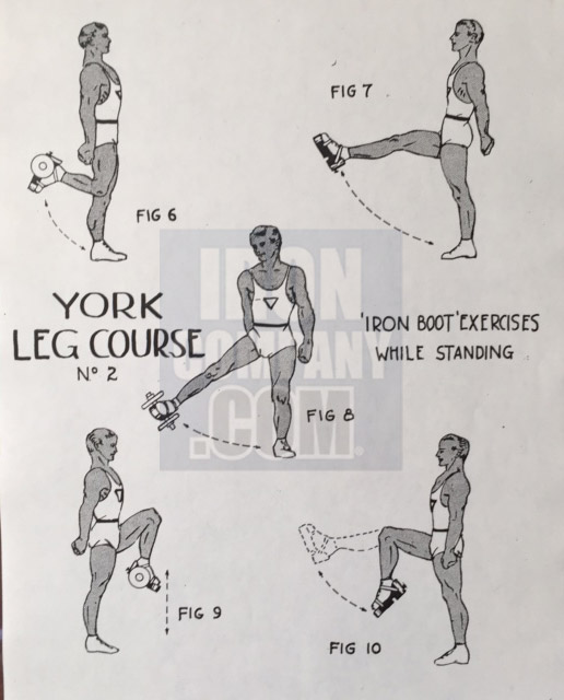 York Barbell System of Training Leg Course 2b