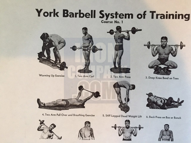 York Barbell System of Training Course 1 Barbell Training