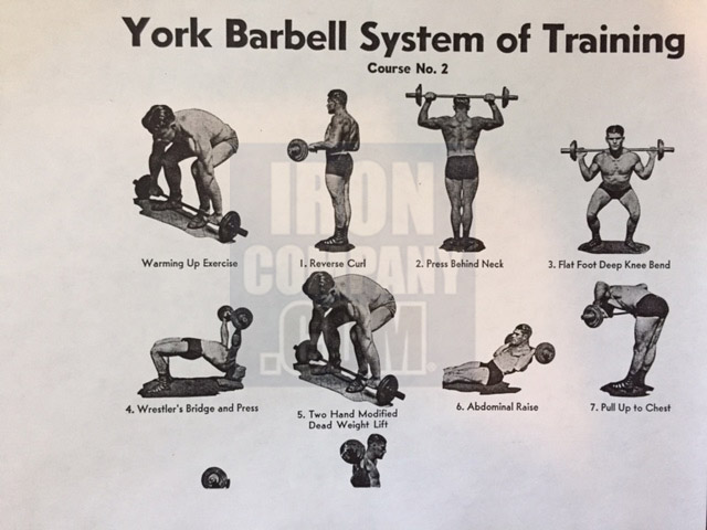 York Barbell System of Training Course 2 Barbell Training