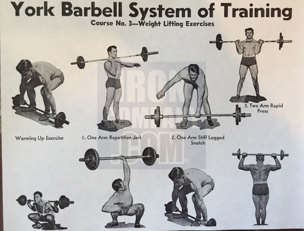 York Barbell System of Training Course 3 Barbell Training