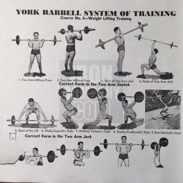 York Barbell System of Training Course 4 Weight Lifting Training