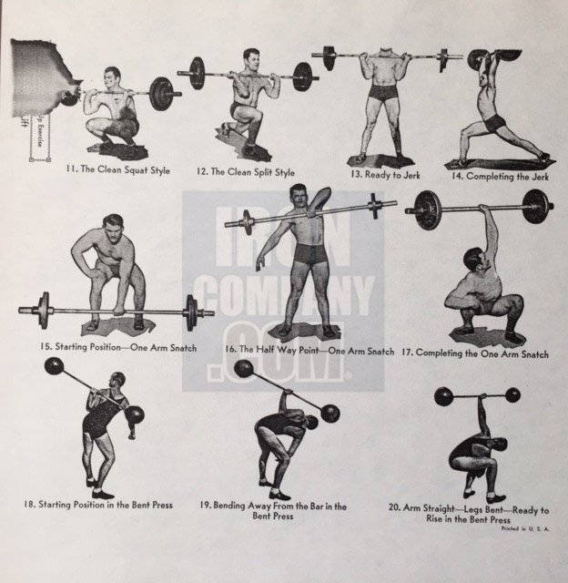York Barbell System of Training Course 4b Weight Lifting Training