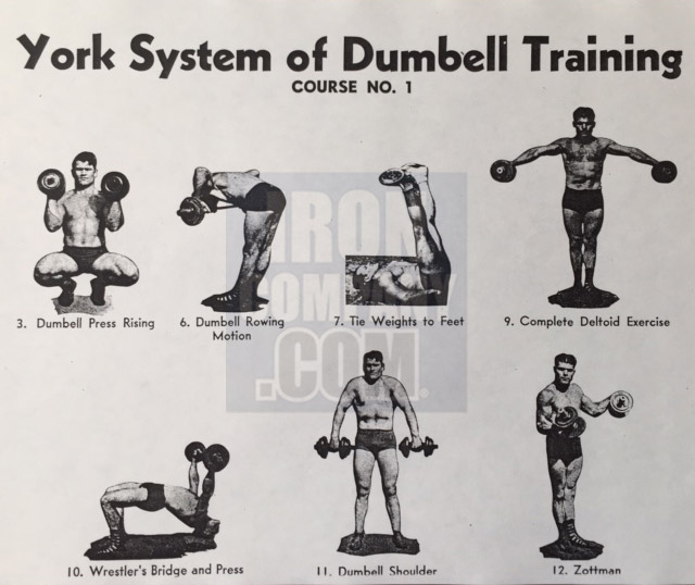 York Barbell System of Training Course 1 Dumbbell Training