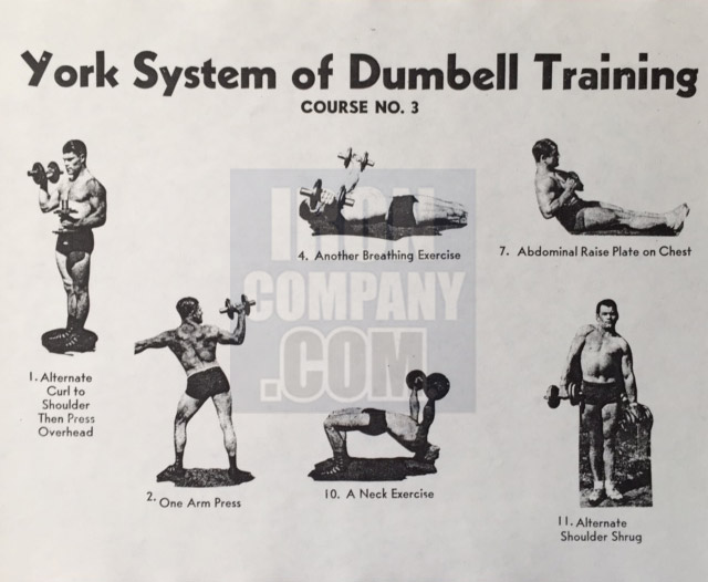 York Barbell System of Training Course 2 Dumbbell Training