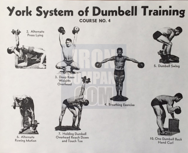 York Barbell System of Training Course 4 Dumbbell Training