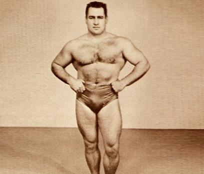 John McCallum weightlifter and writer.