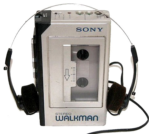 Sony Walkman for listening to music while weightlifting