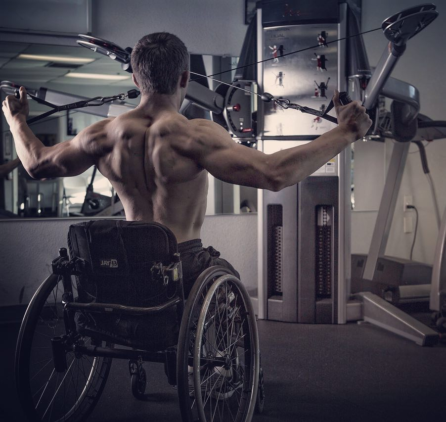So you're in a wheelchair....and you're not sure what you're capable of