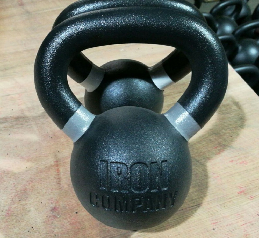 IRON COMPANY Powder Coated Kettlebells