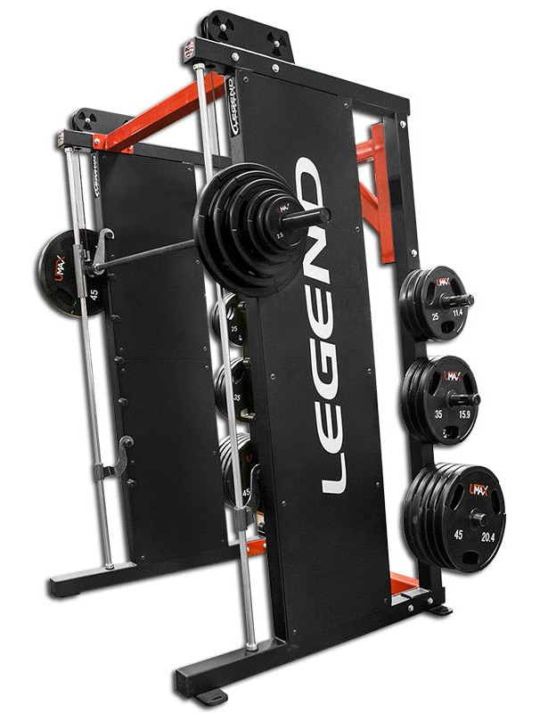 Legend Fitness 3124 Angled Linear Bearing Smith Machine
