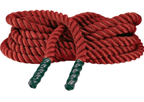 Red Fitness Rope for Heavy Rope Training