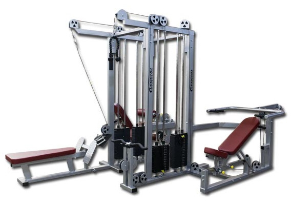 FOUR STACK JUNGLE GYM BY LEGEND FITNESS