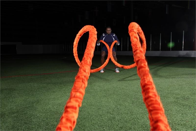 Stroops Slastix Beast Battle Rope Outside Circle Training