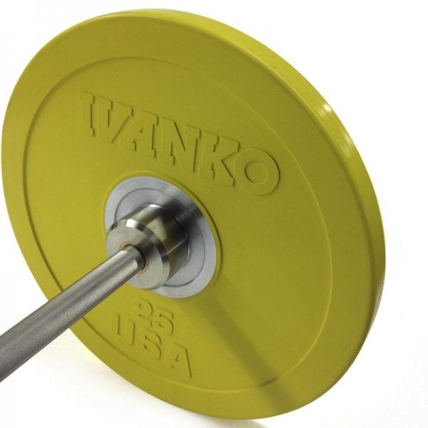 Ivanko Barbell OBP-C Colored Rubber Bumper Plates