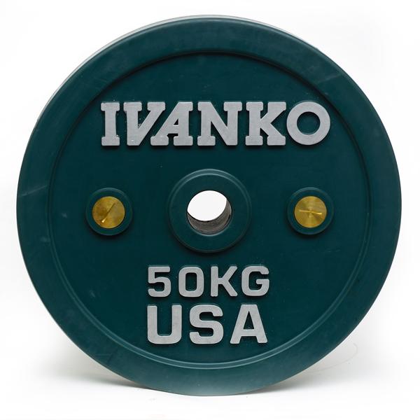 Ivanko Barbell OCB Calibrated Bumper Plates