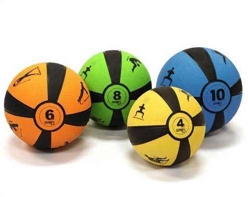 SELF-GUIDING WEIGHTED MEDICINE BALLS BY PRISM FITNESS GROUP