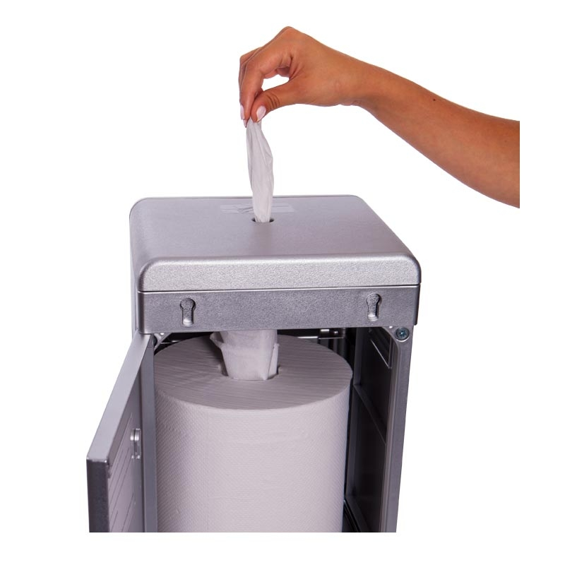 Gym Equipment Wipes Dispensing from The Cleaning Station