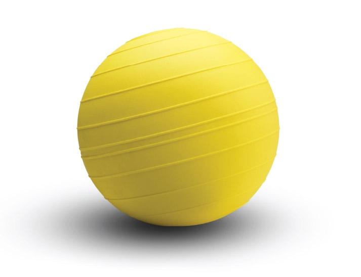 Yellow D-Ball Slam Ball by Mondo