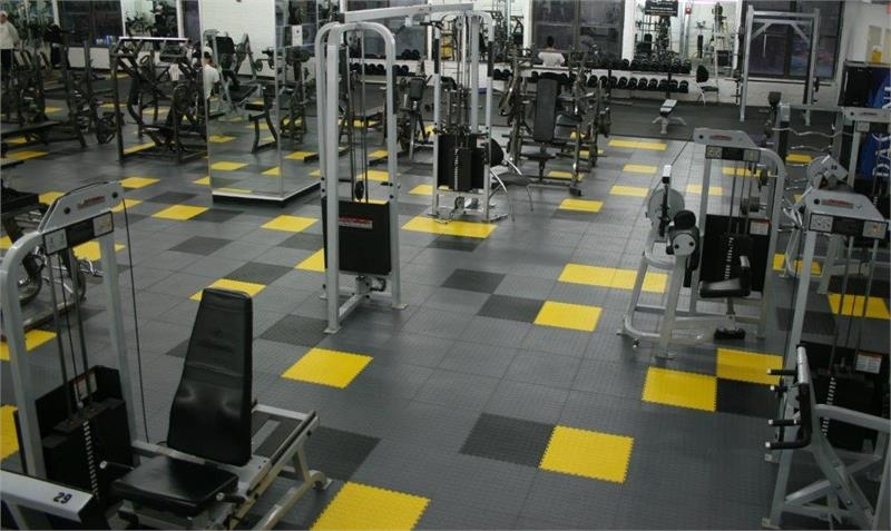 Lock-Tile PVC Flooring Tiles are made from recycled PVC material