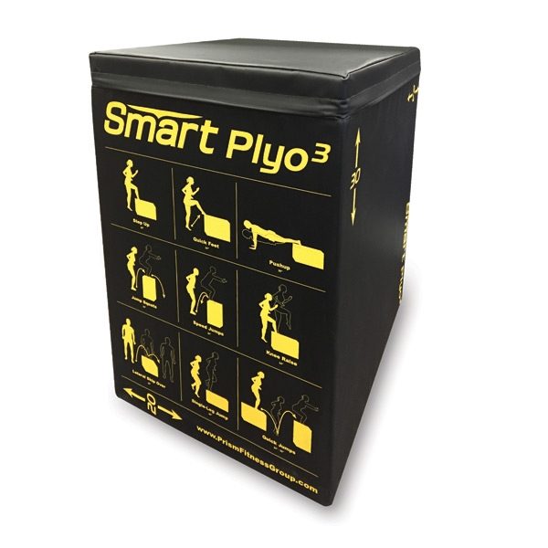 SELF-GUIDED SMART 3-IN-1 SOFT PLYO CUBE BY PRISM FITNESS GROUP