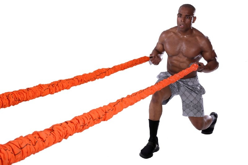 Stroops Slastix Beast Battle Ropes with Horizontal Resistance