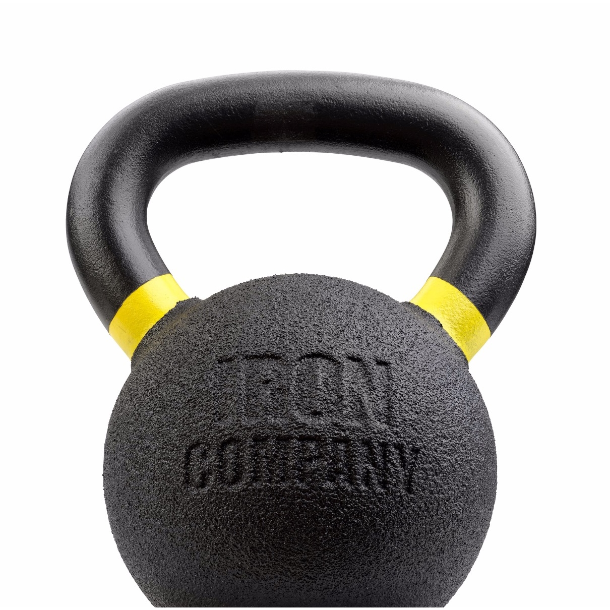 Urethane Coated Kettlebell by IRON COMPANY