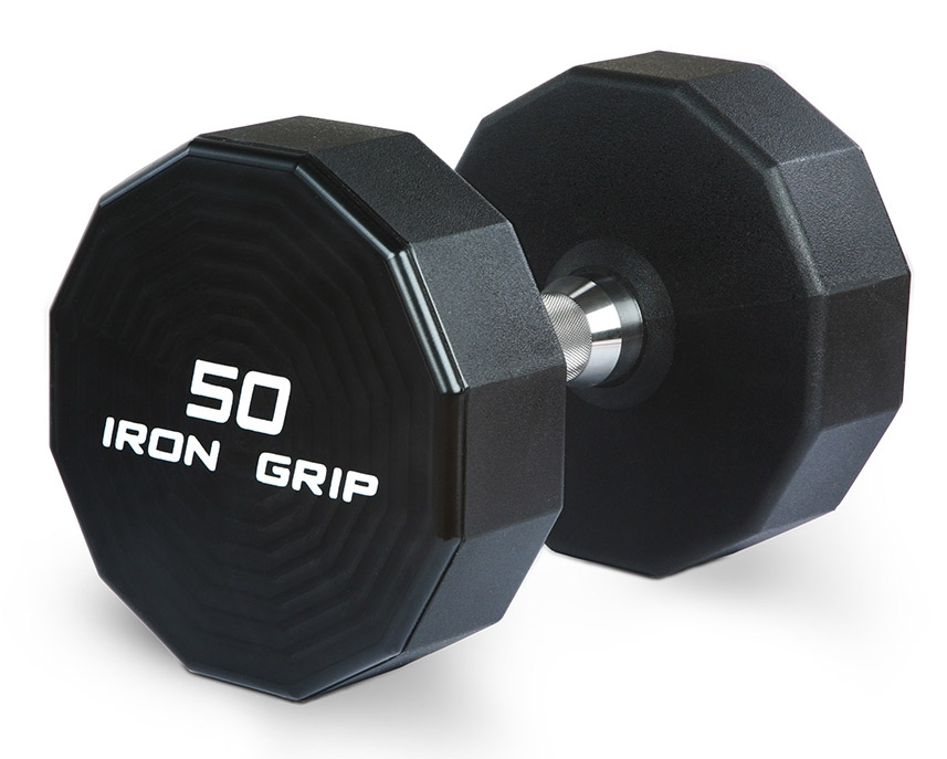 Iron Grip Urethane Dumbbells