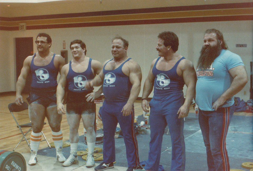 When powerlifting GIANTS walked the earth: Furnas, Coan, Hatfield, Magruder and Kenady