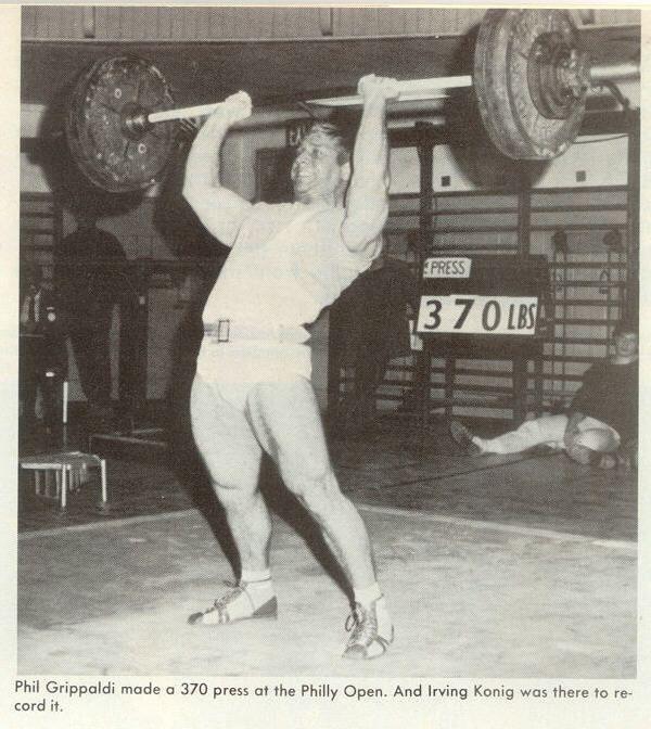 The Bodyweight Overhead Barbell Press