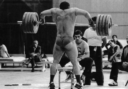 Anatoly Pisarenko clean and snatch