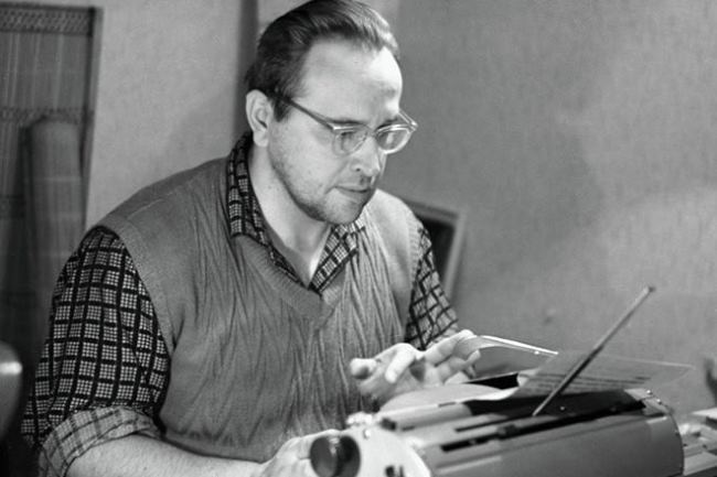Writer Yury Vlasov