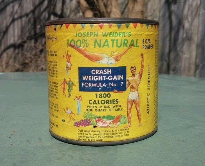 Joe Weider crash weight gain formula number 7 powder