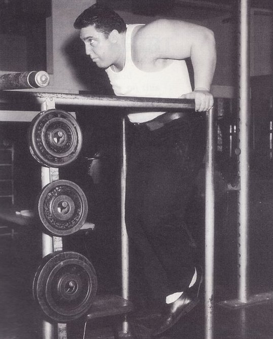 """Dips, """"Squats for the upper body"""""""