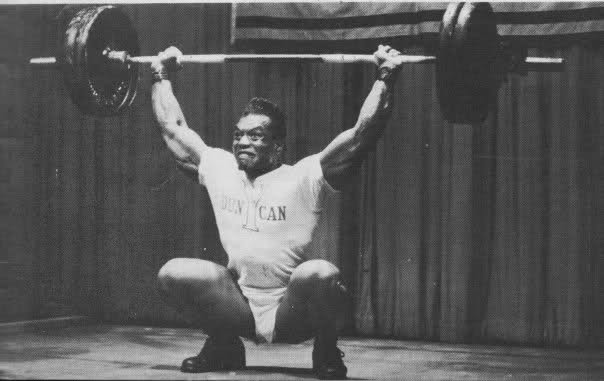 Olympic weightlifter Turned Bodybuilder, Sergio Oliva