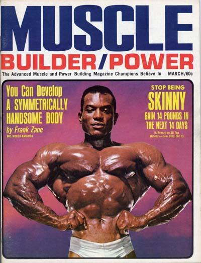 Muscle Magazines - Muscle Builder and Power, March 1968