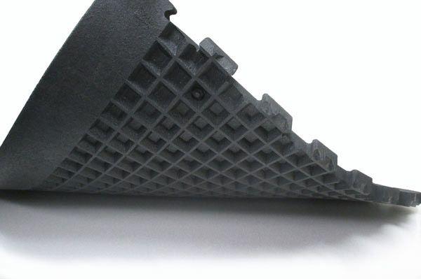 Shok-Lok Noise and Vibration Reducing Rubber Deadlifting Mat